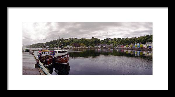 Mull Framed Print featuring the photograph Tobermory Harbor by Jan W Faul