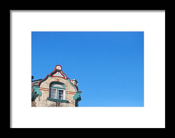 Framed Print featuring the photograph Too Blue by Ben Wrobel