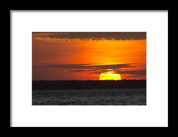 Top-end Framed Print featuring the photograph Top-End Australian Sunset V2 by Douglas Barnard