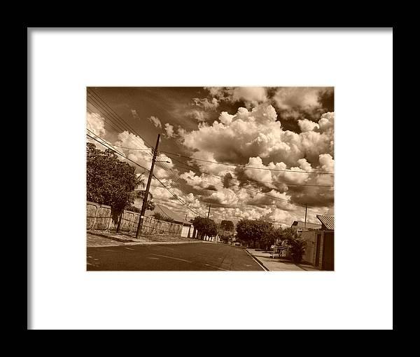 Sky Framed Print featuring the photograph Tormenta by Beto Machado