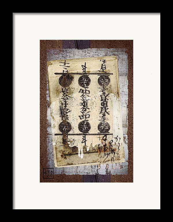 Torn Framed Print featuring the photograph Torn Papers On Wall Number 2 by Carol Leigh