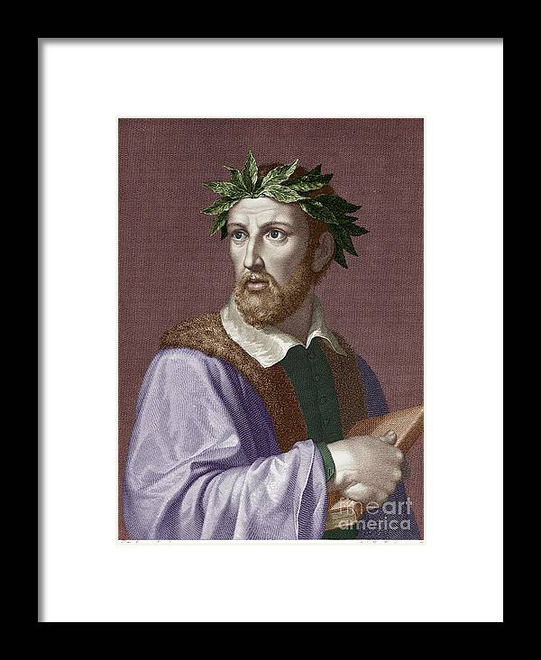 16th Century Framed Print featuring the photograph Torquato Tasso (1544-1595) by Granger