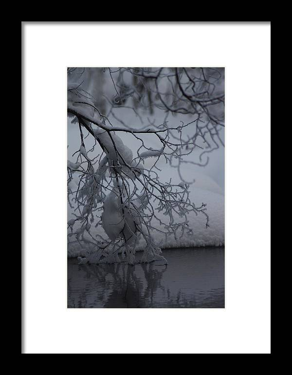 Framed Print featuring the photograph Touch by Jussi Vitikka