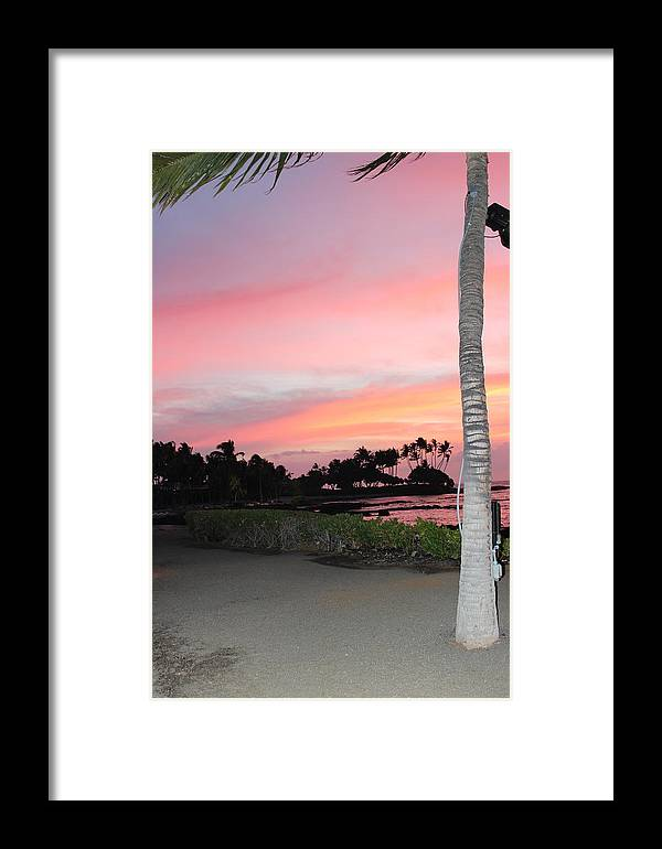 Hawaii Framed Print featuring the photograph Touches Your Heart by Raquel Amaral