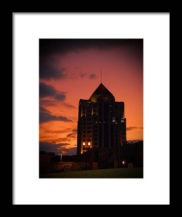 Building Framed Print featuring the photograph Tower by Angela Partridge