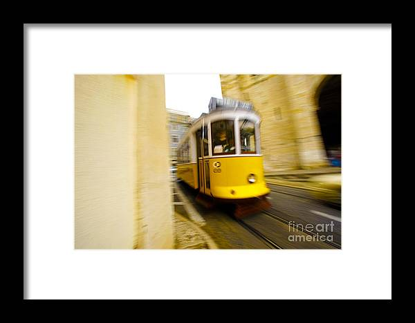 Electrico 28 Framed Print featuring the photograph Tram by Andre Poling