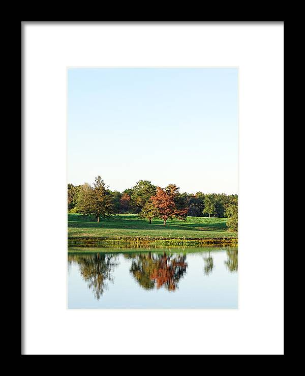 Framed Print featuring the photograph Tranquil Reflections by Charles Feagans
