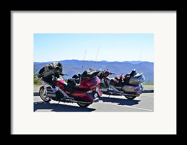 Travel Framed Print featuring the photograph Traveling In Style by Susan Leggett