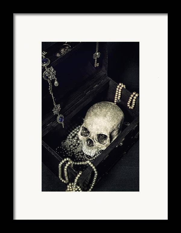 Skull Framed Print featuring the photograph Treasure Chest by Joana Kruse