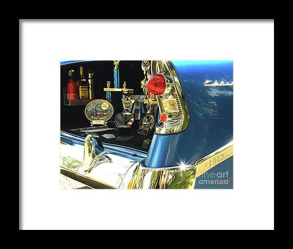 Auto Framed Print featuring the photograph Trophy Trunkie by Joe Jake Pratt