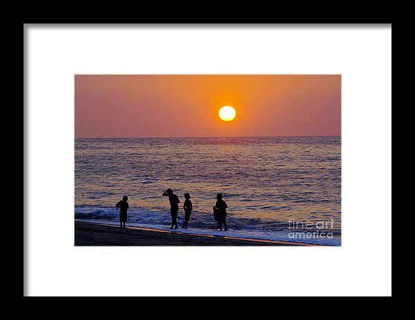 Children Framed Print featuring the photograph Tropical Pacific Childhood by Gib Martinez