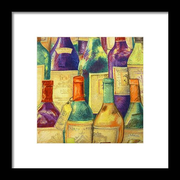 Wine Framed Print featuring the photograph Try Some Wine by Florene Welebny