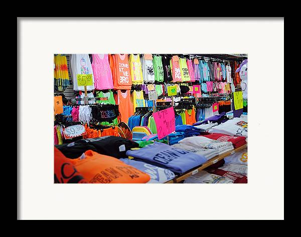 Fair Framed Print featuring the photograph T's by Skip Willits