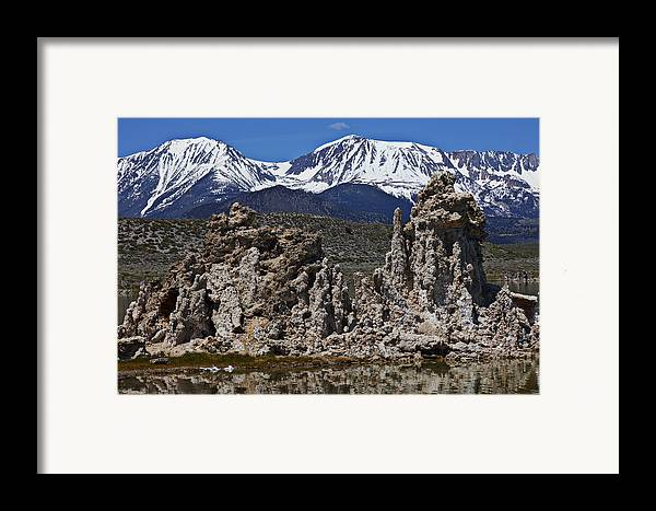 Tufa Framed Print featuring the photograph Tufa At Mono Lake California by Garry Gay