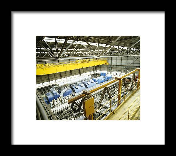 Machine Framed Print featuring the photograph Turbine Hall by Adam Gault