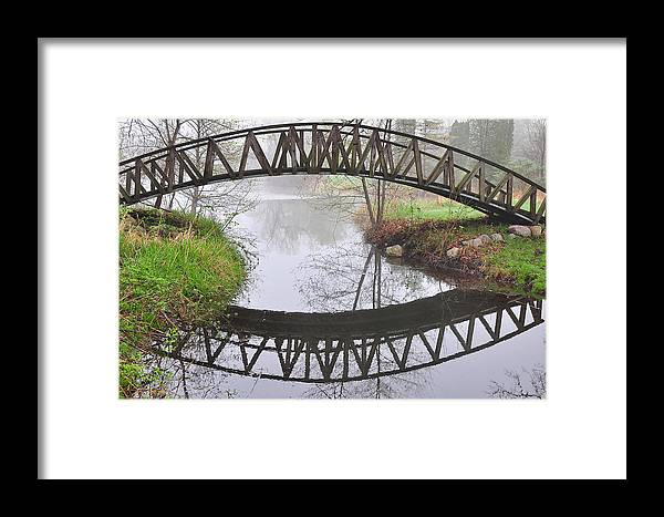 Landscapes Photography Framed Print featuring the photograph Turtle Creek Reflections by Eugene Gabry
