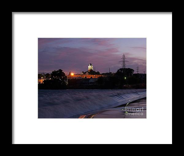 Color Photography Framed Print featuring the photograph Twilight Rush II by Sue Stefanowicz