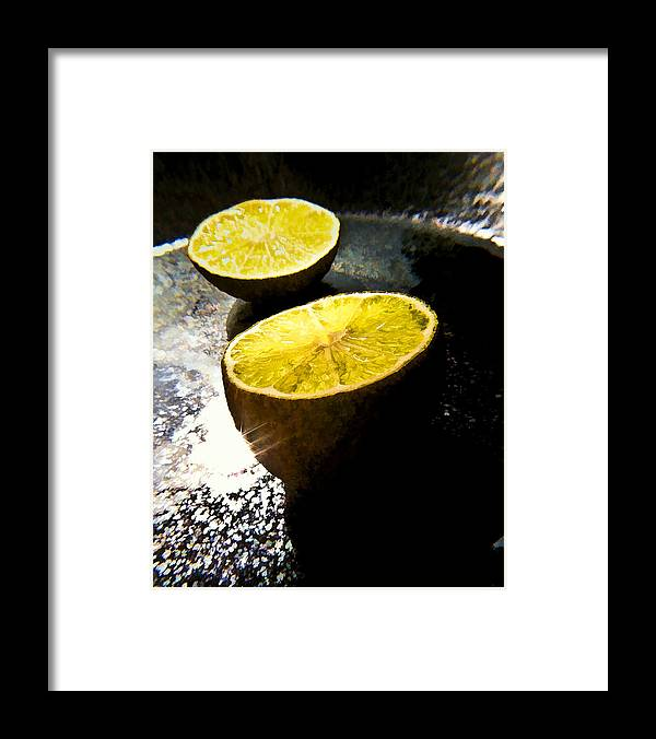 Twins Framed Print featuring the photograph Twin Moons by Joe Carini
