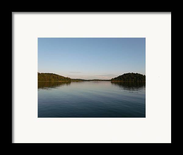 Two Islands Framed Print featuring the photograph Two Islands by Brian Maloney