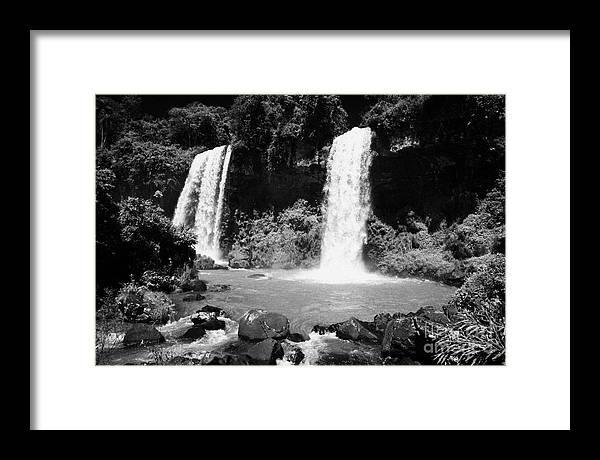 two sisters waterfalls Salto Dos Hermanas iguazu national park argentina by Joe Fox