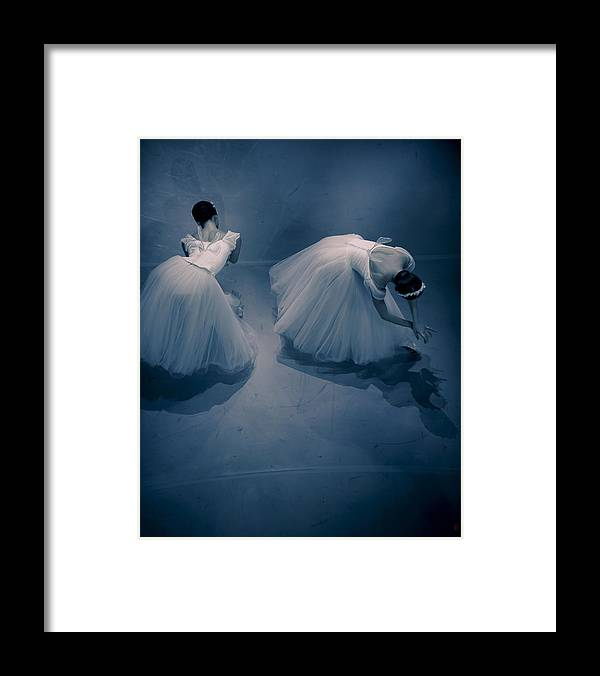 Giselle Framed Print featuring the photograph Two Willises by Nikolay Krusser