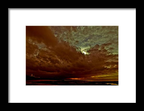 April Framed Print featuring the photograph Under April Skies by Tony Polain