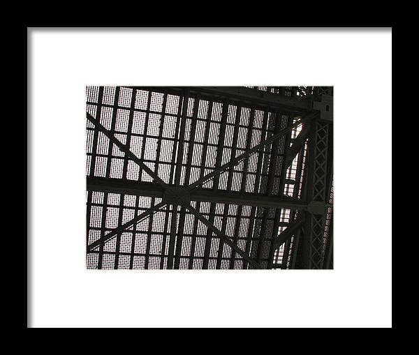Bridge Framed Print featuring the photograph Under The Bridge by Michael Merry