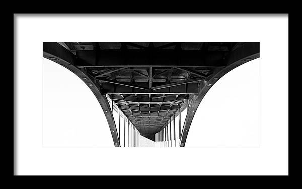 Framed Print featuring the photograph Under The Bridge by Smallfort Photography Collection