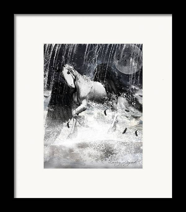 Unicorn Framed Print featuring the photograph Unicorn's Complexities by Lourry Legarde