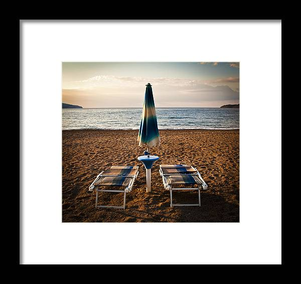 Coast Framed Print featuring the photograph Unopened by Akos Kozari