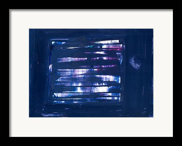 Purple Framed Print featuring the painting Untitled # 34 by Kongtrul Jigme Namgyel