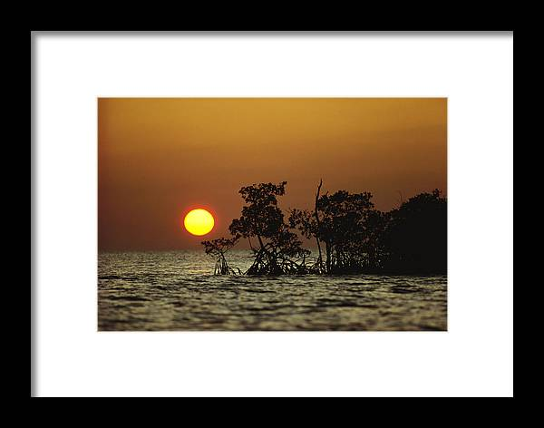 Natural Forces And Phenomena Framed Print featuring the photograph Untitled by James P. Blair