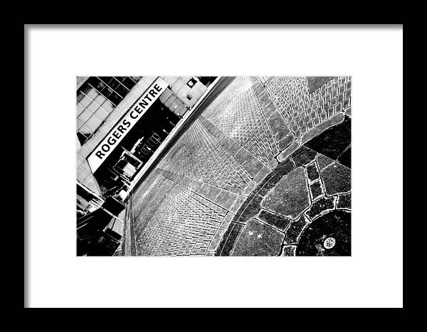 Urban Framed Print featuring the photograph Urban Pattern by Valentino Visentini
