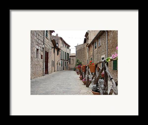 Mallorca Framed Print featuring the photograph Valldemossa by Ana Maria Edulescu