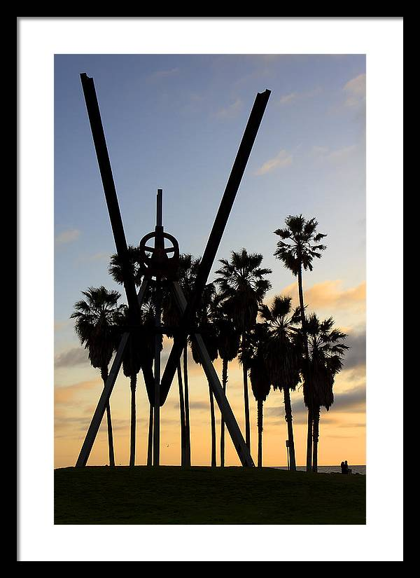 Venice Beach Sculpture by Artistic Photos