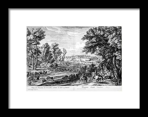 Versailles: Hunting Lodge Framed Print by Granger