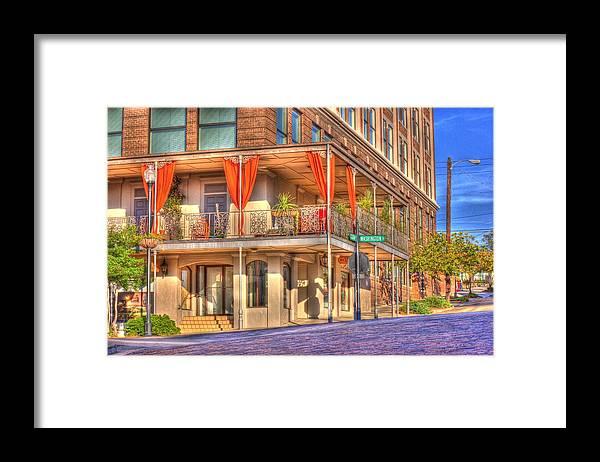 Street Corner Framed Print featuring the photograph Vicksburg Street Corner by Barry Jones