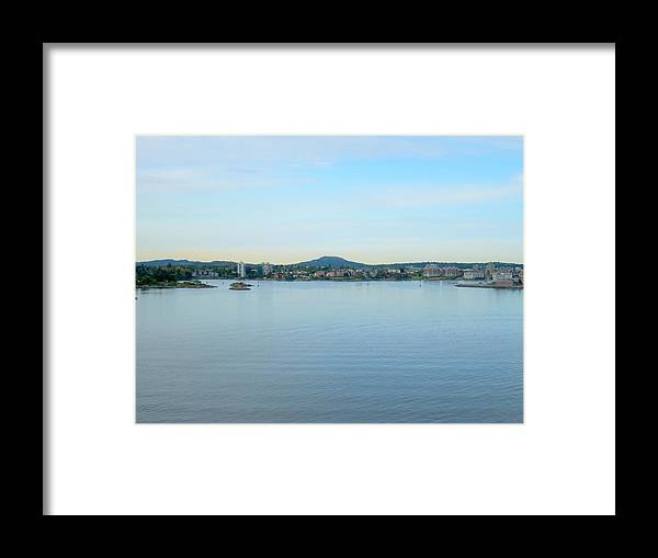 Victoria Framed Print featuring the photograph Victoria British Columbia by Randall Weidner