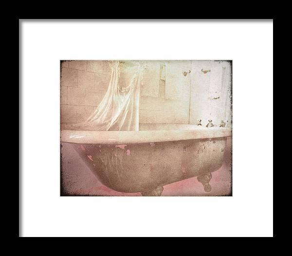 Bathtub Framed Print featuring the photograph Victorian Bath by Sharon Kalstek-Coty