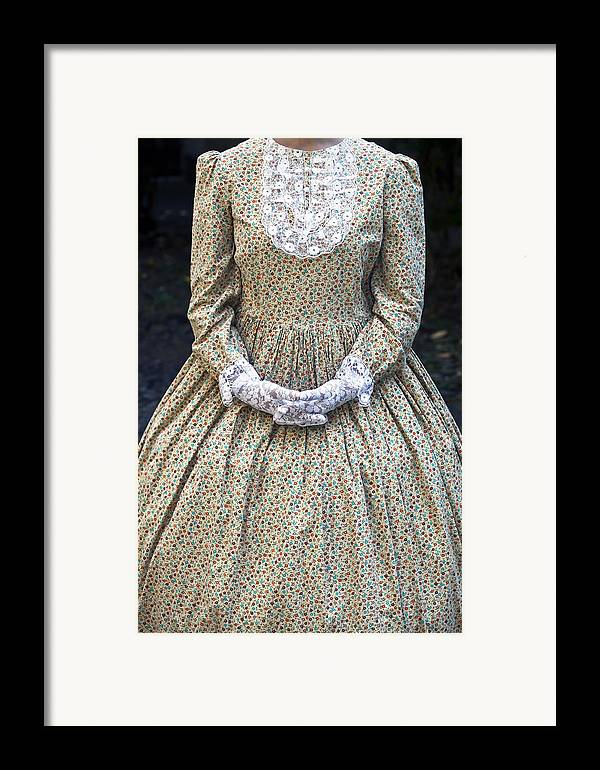 Female Framed Print featuring the photograph Victorian Lady by Joana Kruse