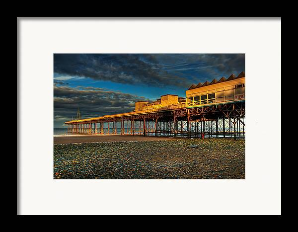 Beach Framed Print featuring the photograph Victorian Pier by Adrian Evans