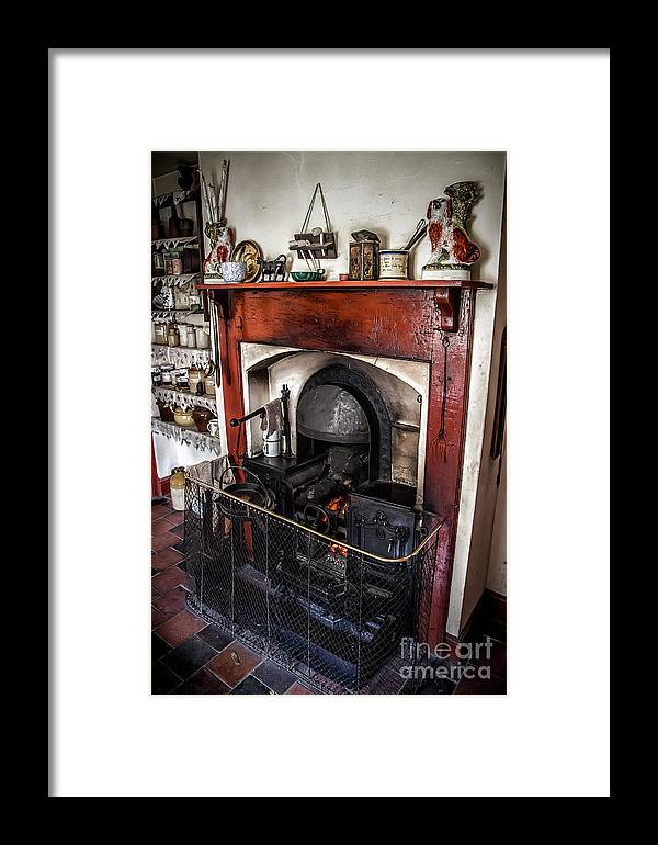 Architecture Framed Print featuring the photograph Victorian Range by Adrian Evans