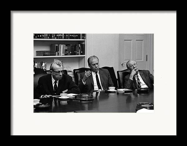 History Framed Print featuring the photograph Vietnam War Escalation. Republican by Everett