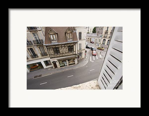 France Framed Print featuring the pyrography View From Window  by Igor Kislev