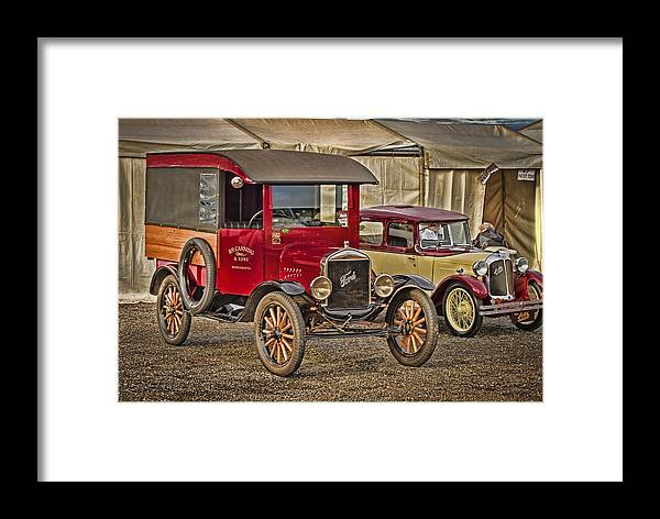 Vintage Framed Print featuring the photograph Vintage by Rene Martens