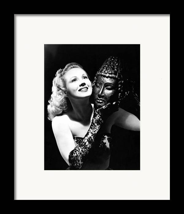 1940s Portraits Framed Print featuring the photograph Virginia Mayo, Ca. Early 1940s by Everett