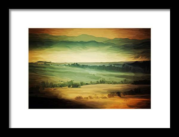 Framed Print featuring the photograph Viridis by Bogdan Botofei