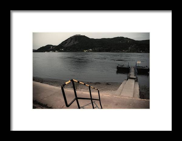 Visegrad Framed Print featuring the photograph Visegrad Hill With Danube by Tibor Puski