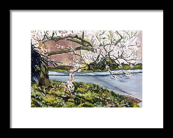 Landscape Framed Print featuring the painting Vnucka-pirner by Pablo de Choros