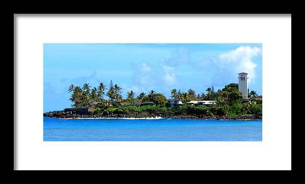 Waimea Bay Framed Print featuring the photograph Waimea Bay by Brad Scott